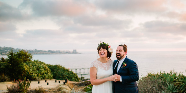 Laid-Back & Lovely Seaside Wedding
