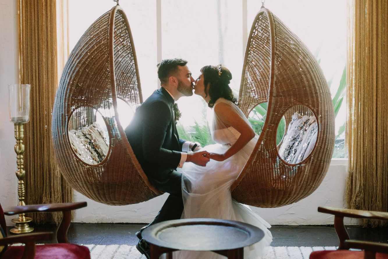 Playful Wedding at the Parker Palm Springs