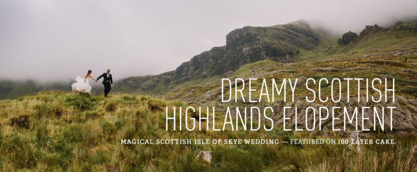 Dreamy Scottish Highlands Elopement