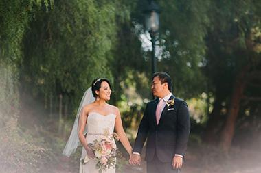 Charming Victorian Park Wedding