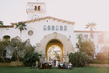 Intimate Santa Barbara Courthouse Wedding