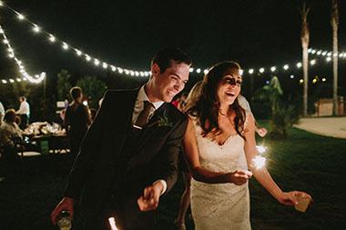 Backyard Wedding Joy