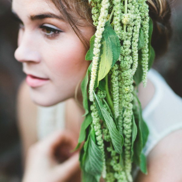 Wearable Ferns Inspiration – Photo by Let's Frolic Together