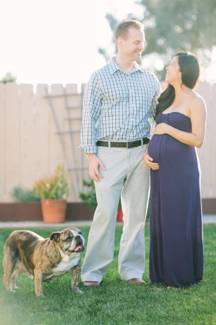 An Evening In The Country With Parents-To-Be – Photo by Let's Frolic Together