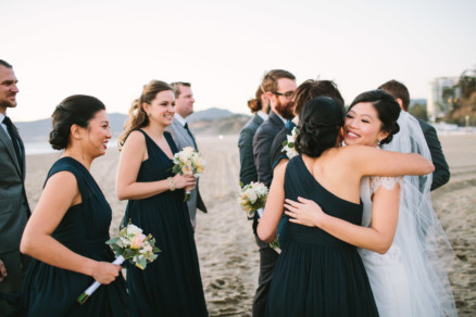 Romantic Sunny Seaside Wedding – Photo by Let's Frolic Together