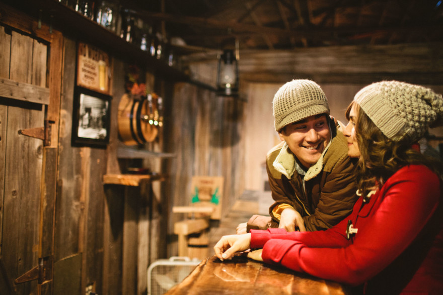 Christmas Trees, Cider, and Coziness – Photo by Let's Frolic Together