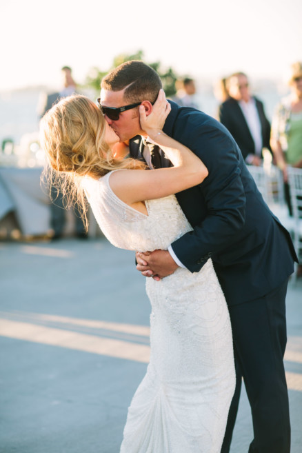 Sunny love at the Broadway Pier – Photo by Let's Frolic Together