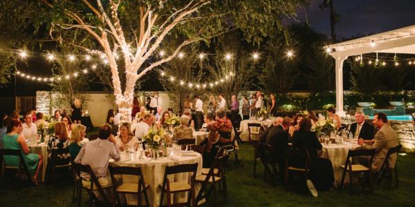 Playful Backyard Phoenix Wedding – Photo by Let's Frolic Together