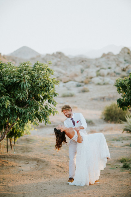Boho Union at Le Haut Desert Aerie – Photo by Let's Frolic Together