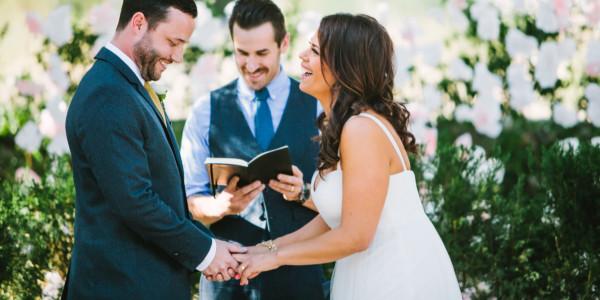 Rockin' Desert Palm Springs Wedding – Photo by Let's Frolic Together