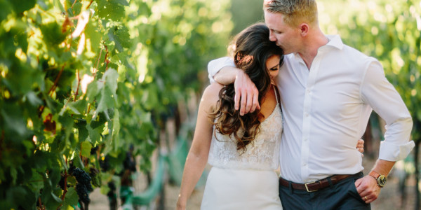 Way laid back Wedding in Sonoma – Photo by Let's Frolic Together
