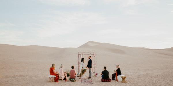 Nomadic Desert Caravan Union – Photo by Let's Frolic Together