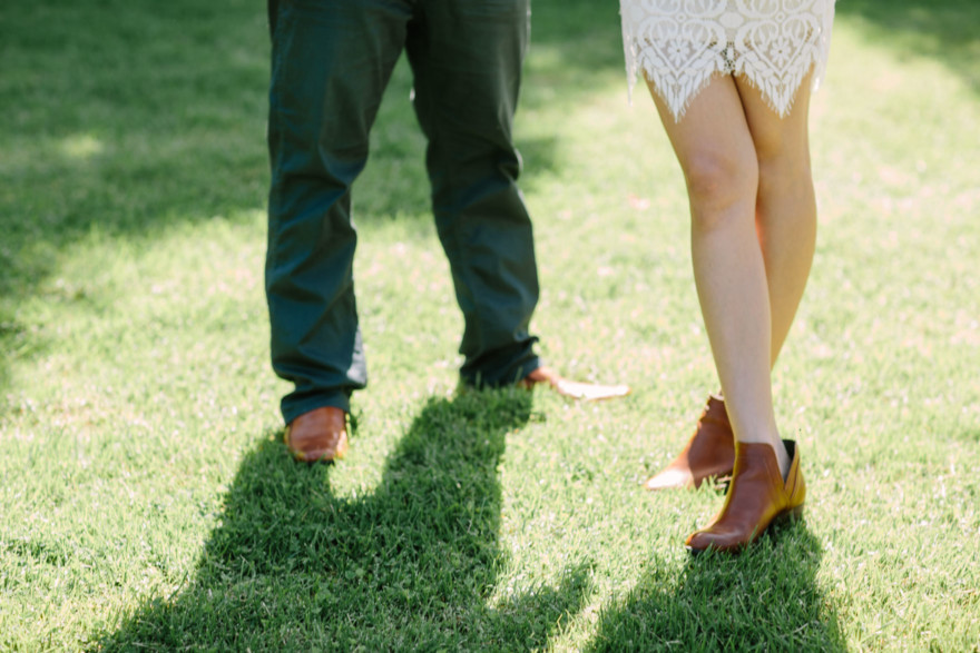 DIY Garden Wedding Charmer – Photo by Let's Frolic Together