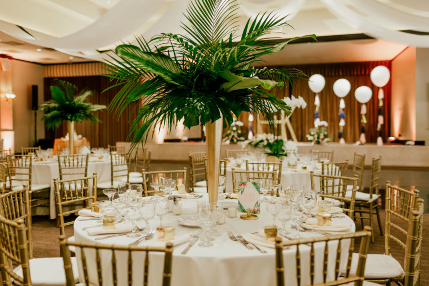Tropical Art Deco-Inspired Day – Photo by Let's Frolic Together