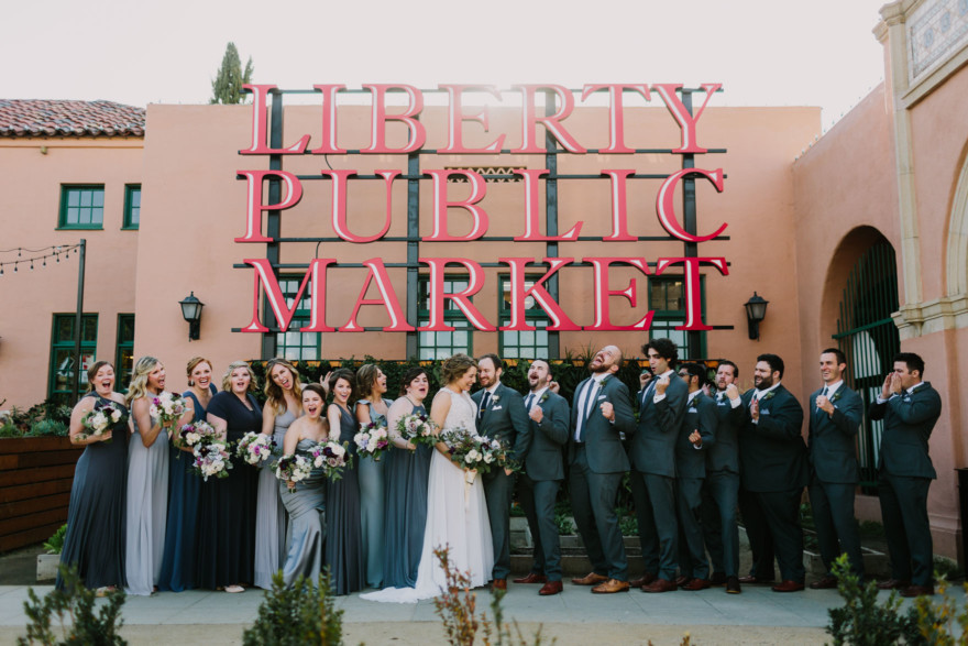 Charming Brick Wedding Love-Fest – Photo by Let's Frolic Together
