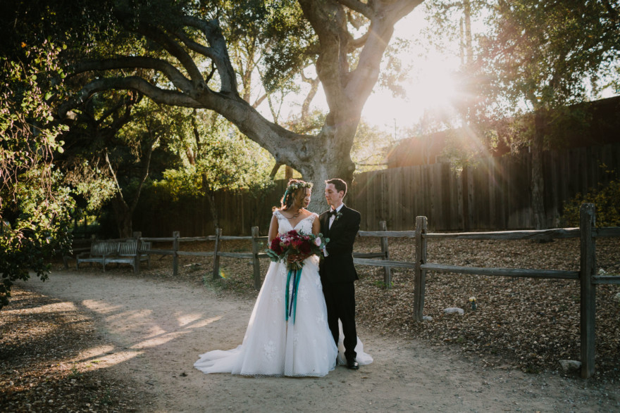 Descanso Gardens Wedding Magic – Photo by Let's Frolic Together