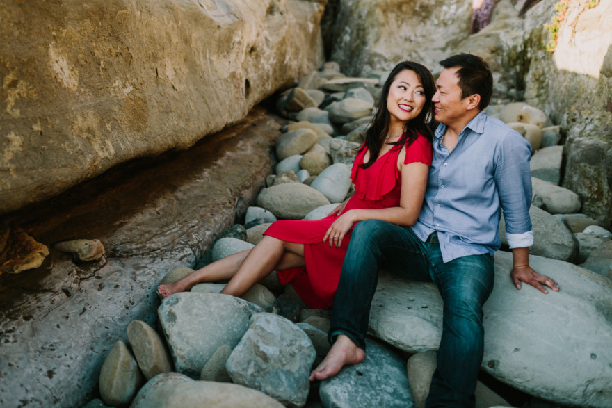Sun & Surf La Jolla Engagement – Photo by Let's Frolic Together