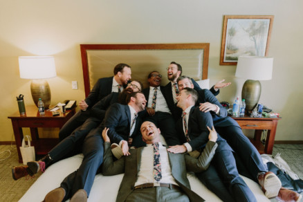 Playful Stonehouse Rustic Wedding – Photo by Let's Frolic Together