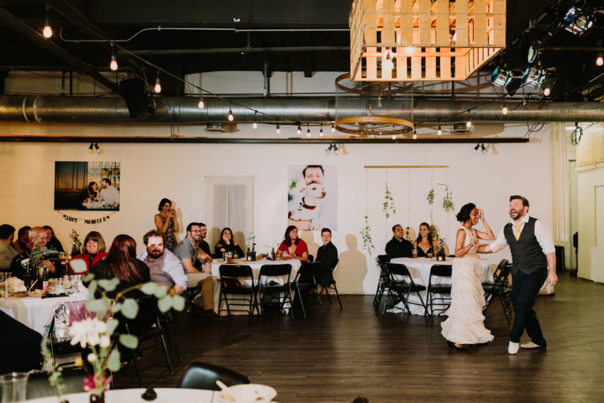 Moniker Dance Party Wedding – Photo by Let's Frolic Together