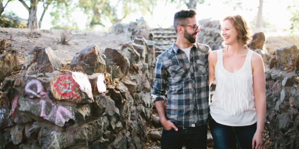 Urban Jungle Engagement in San Diego – Photo by Let's Frolic Together