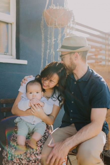 Desert Inspired Backyard Family – Photo by Let's Frolic Together