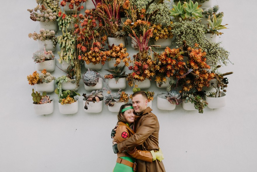 Gambit & Rogue: Halloween Engagement – Photo by Let's Frolic Together