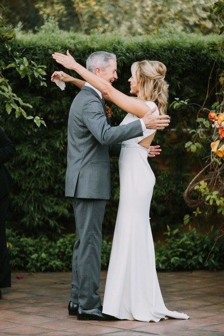 An Intimate Union at Rancho Valencia – Photo by Let's Frolic Together