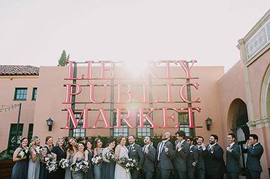 Charming Brick Wedding