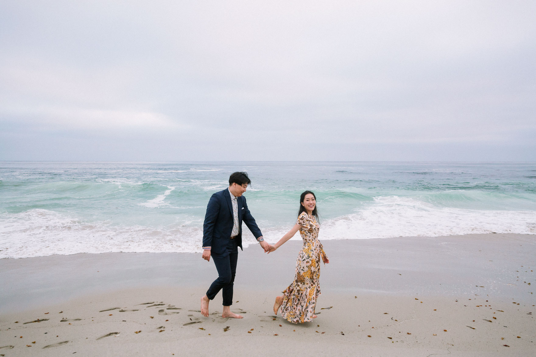 Swept Away at Windansea – Photo by Let's Frolic Together