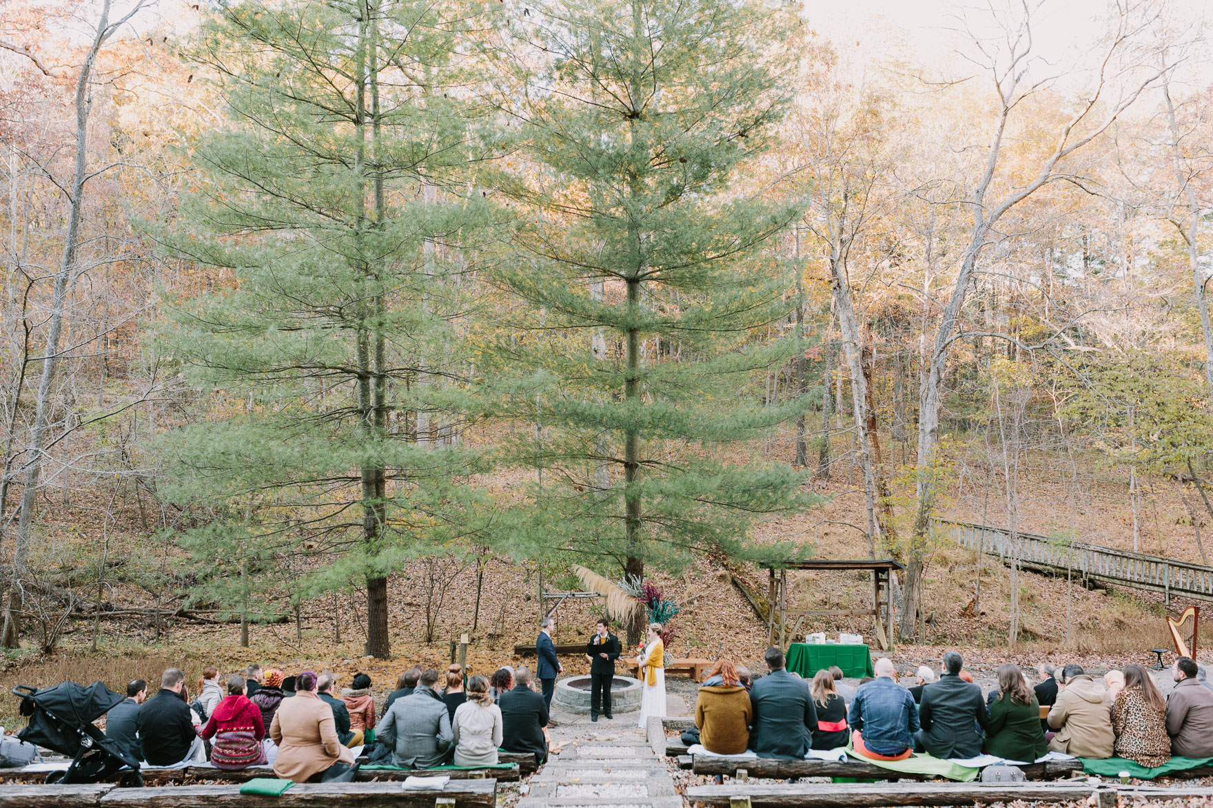 Cozy Autumn-in-Missouri Union – Photo by Let's Frolic Together