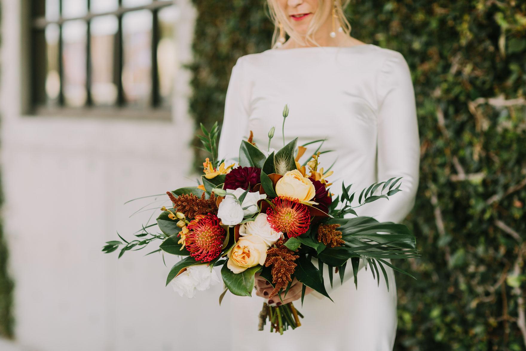 Modern Santa Barbara Garden Wedding Bash – Photo by Let's Frolic Together