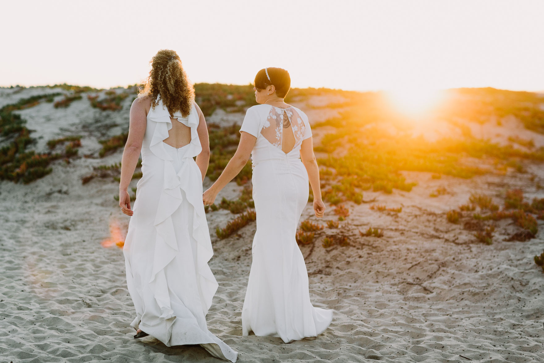 Whimsical San Diego Elopement – Photo by Let's Frolic Together