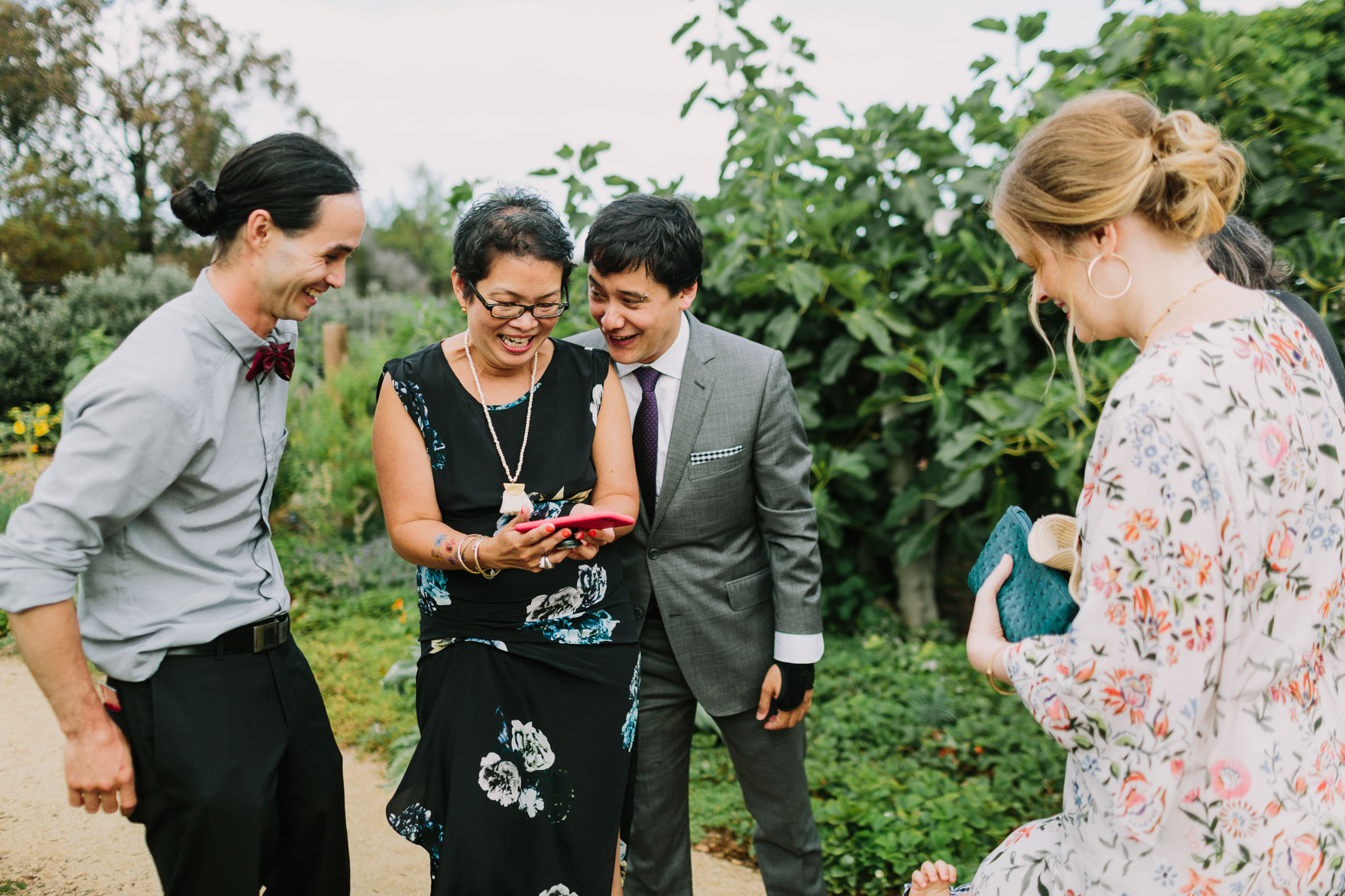 Industrial Garden Oasis Wedding – Photo by Let's Frolic Together