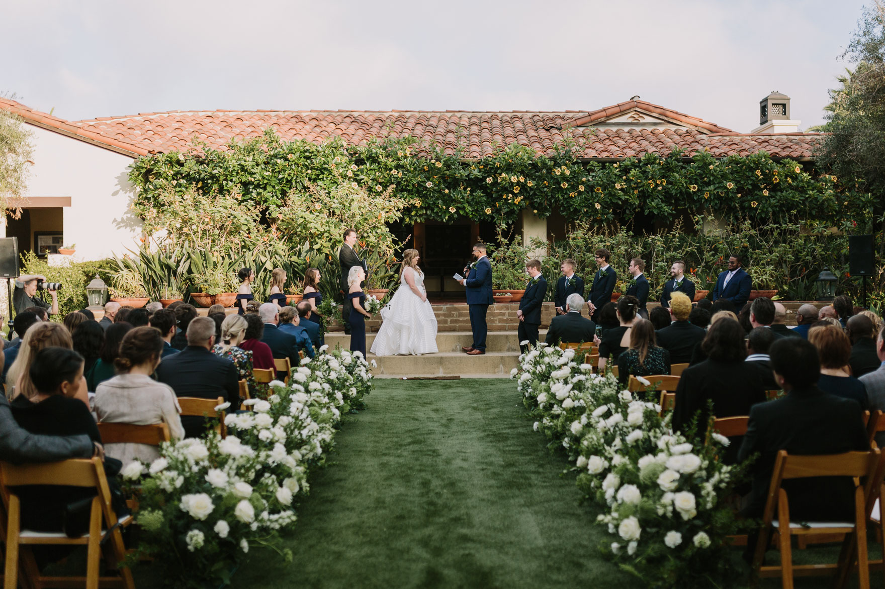 Playful La Jolla Estancia Wedding – Photo by Let's Frolic Together
