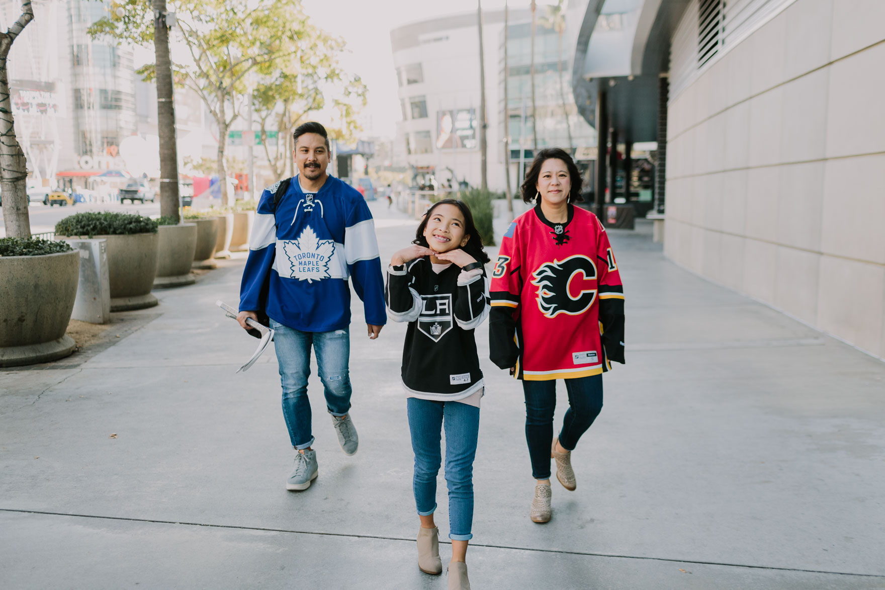The Family that Hockeys Together – Photo by Let's Frolic Together