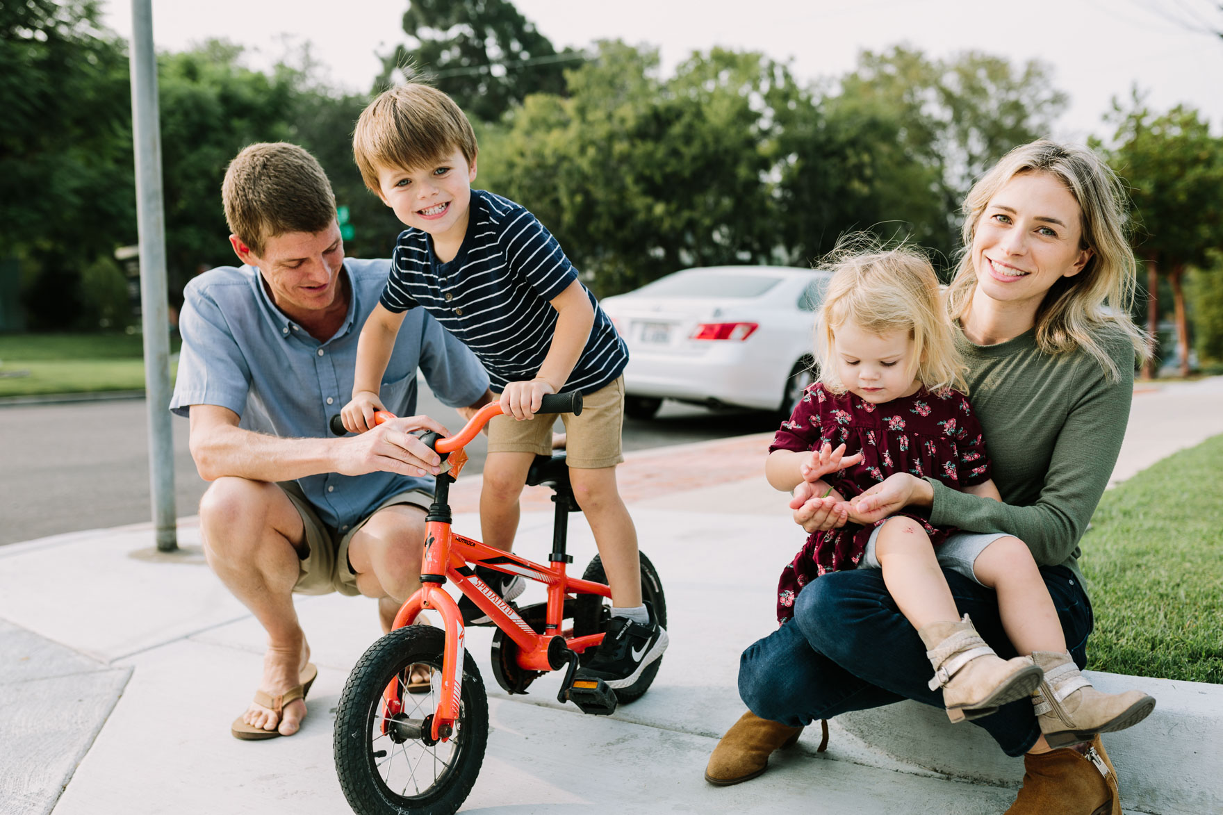 An At-Home Family Adventure – Photo by Let's Frolic Together