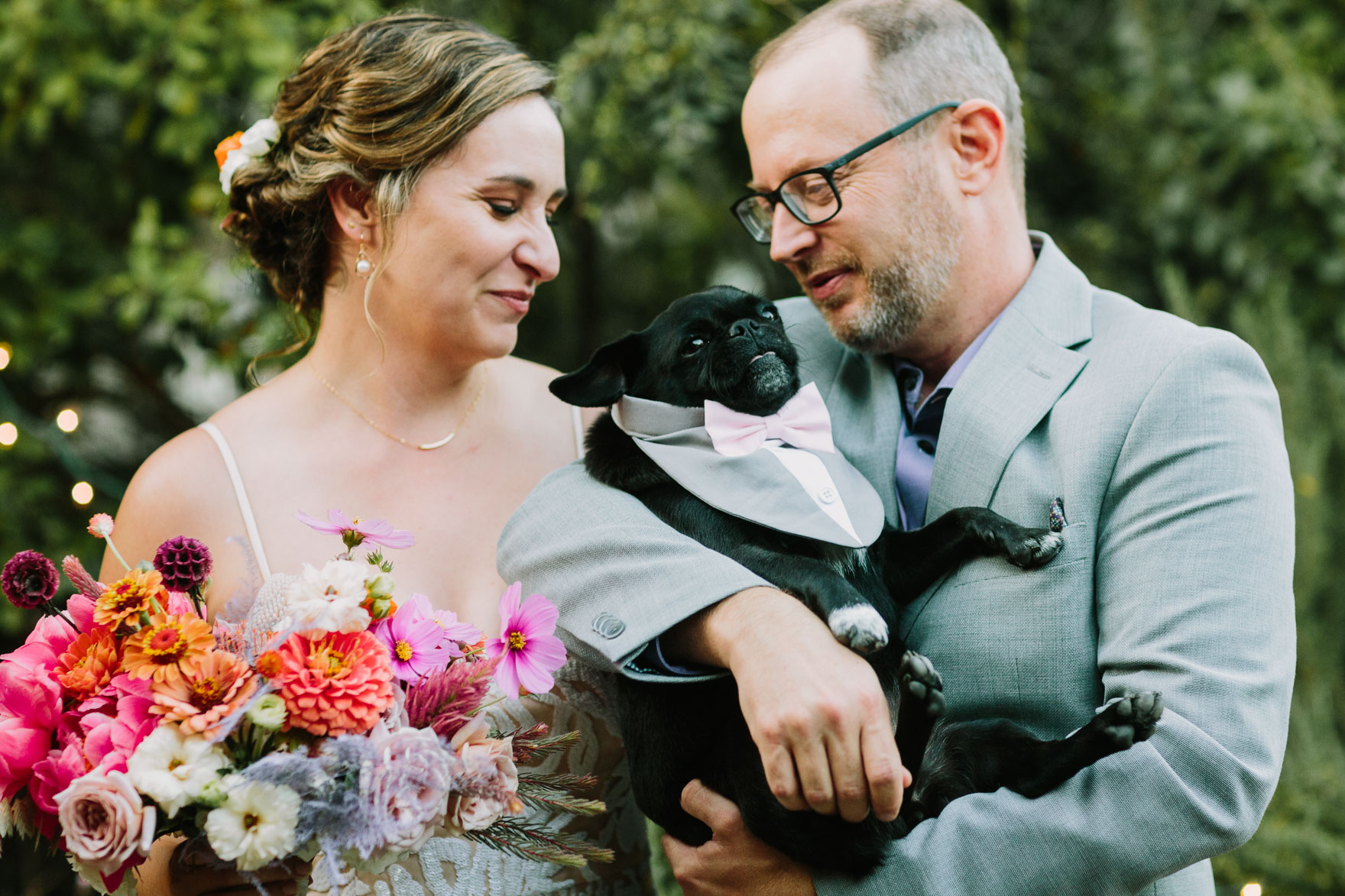 Charming Backyard Microwedding – Photo by Let's Frolic Together