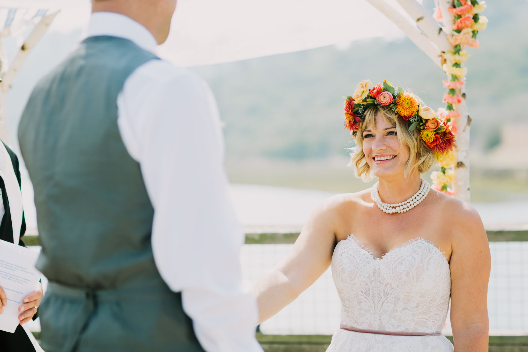 Sweet & Sunny Lagoon Elopement – Photo by Let's Frolic Together