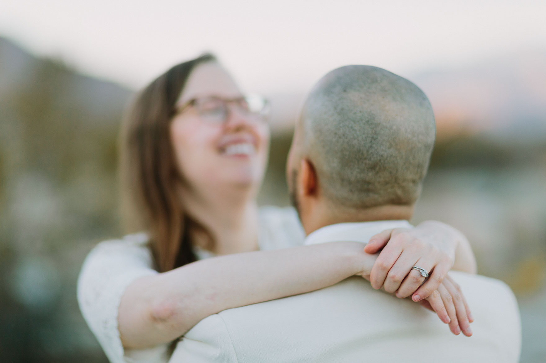 Midcentury Palm Springs Elopement – Photo by Let's Frolic Together