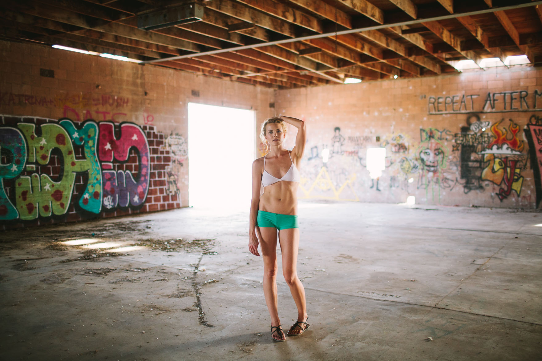 Abandoned Magical Fashion Editorial – Photo by Let's Frolic Together