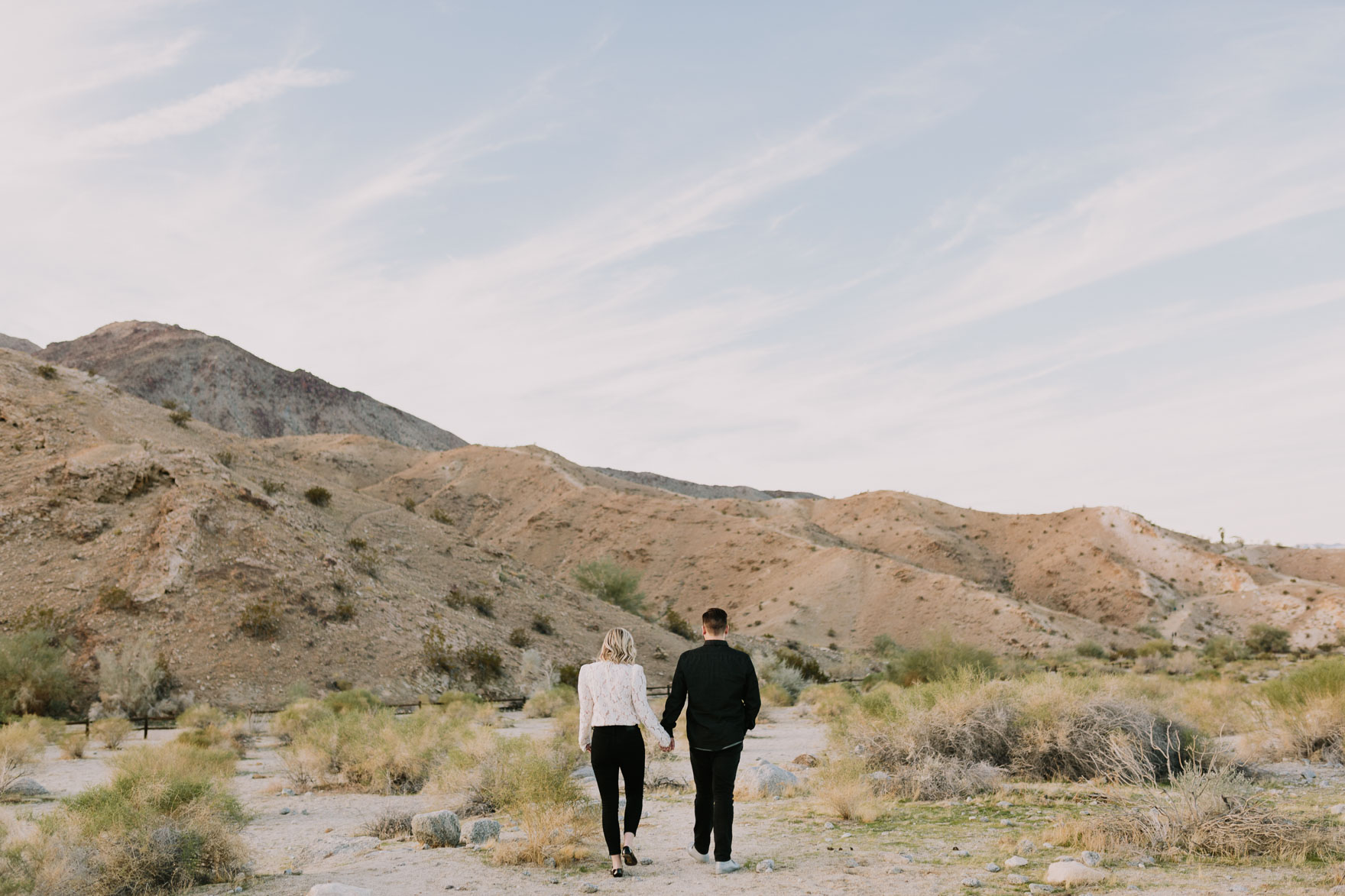 Black and White Desert Stroll – Photo by Let's Frolic Together