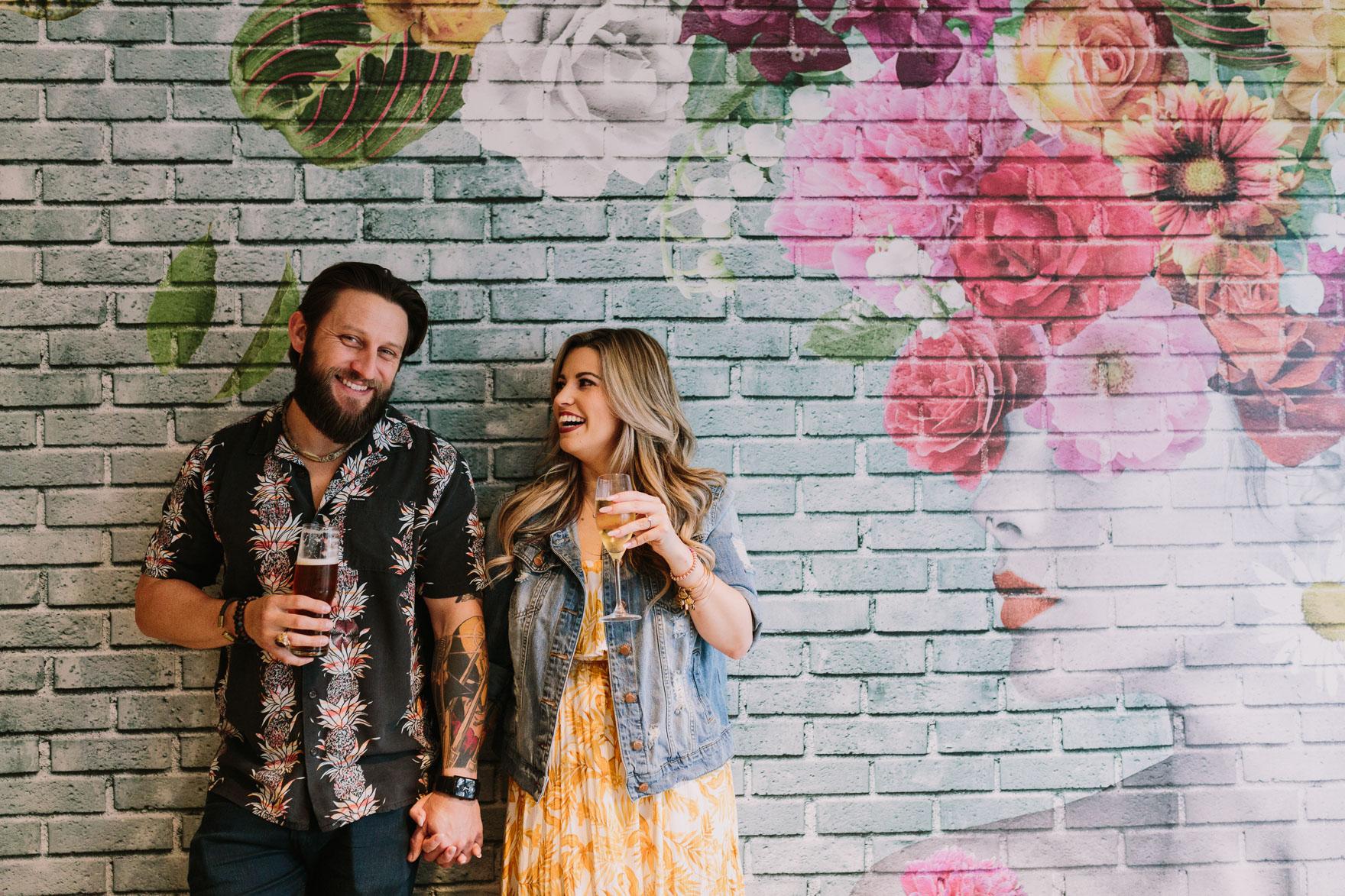 Drinks & Laughs at Shorebreak – Photo by Let's Frolic Together