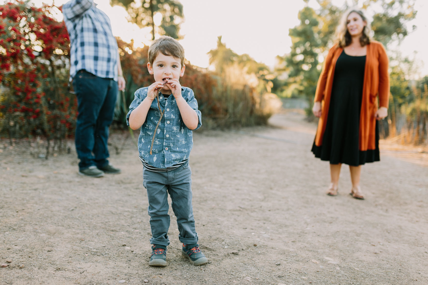 Family Nature Walk in the Park – Photo by Let's Frolic Together