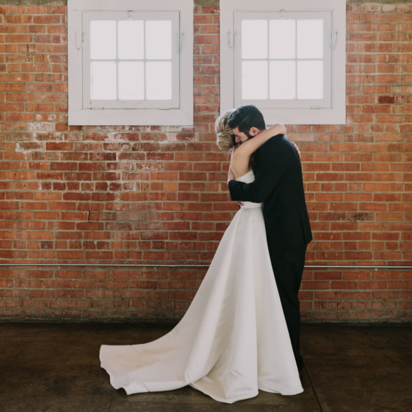 A Velvet Wedding at Historic Brick – Photo by Let's Frolic Together