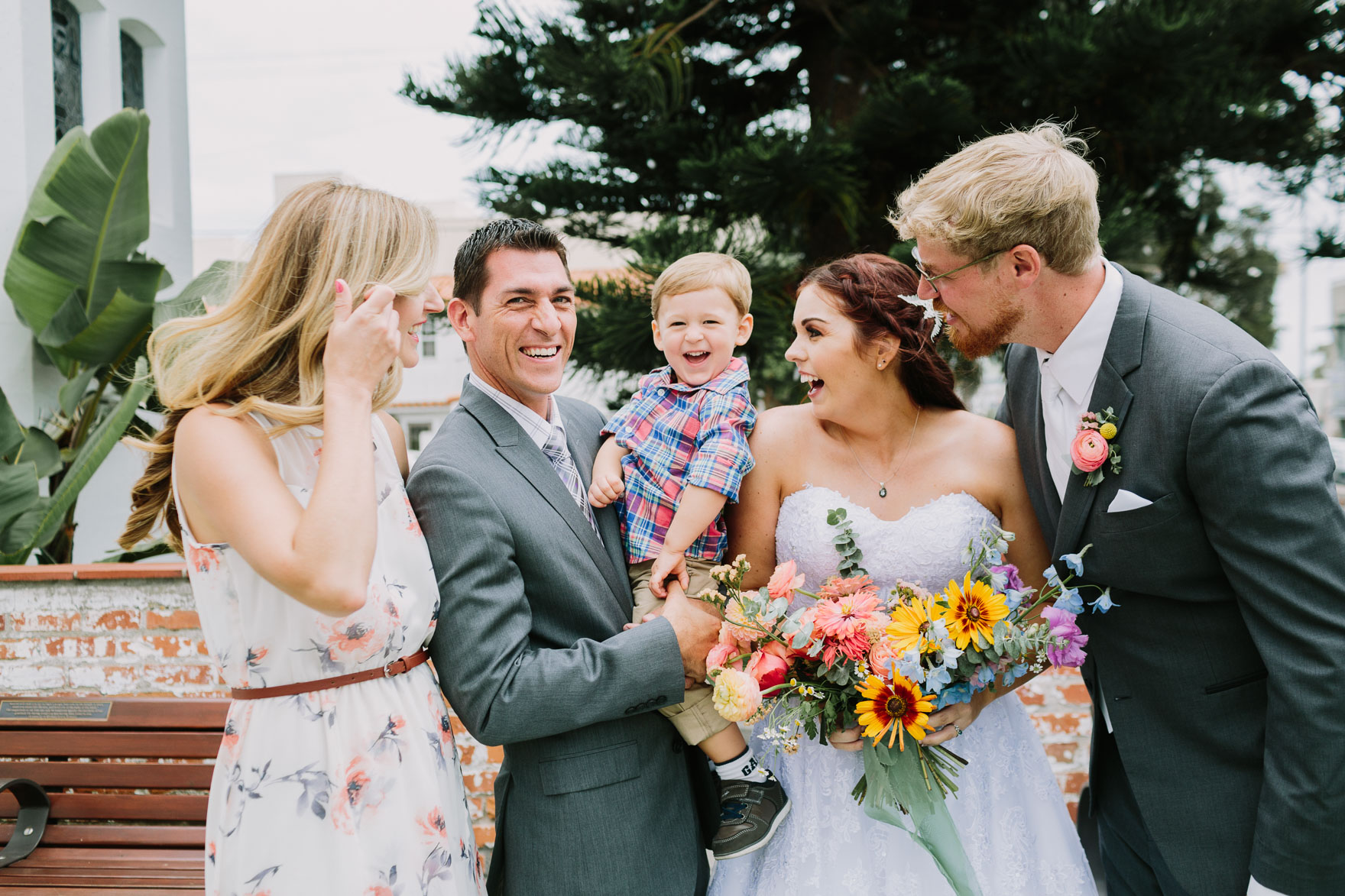Fun and Ice-Cream-Filled Wedding – Photo by Let's Frolic Together