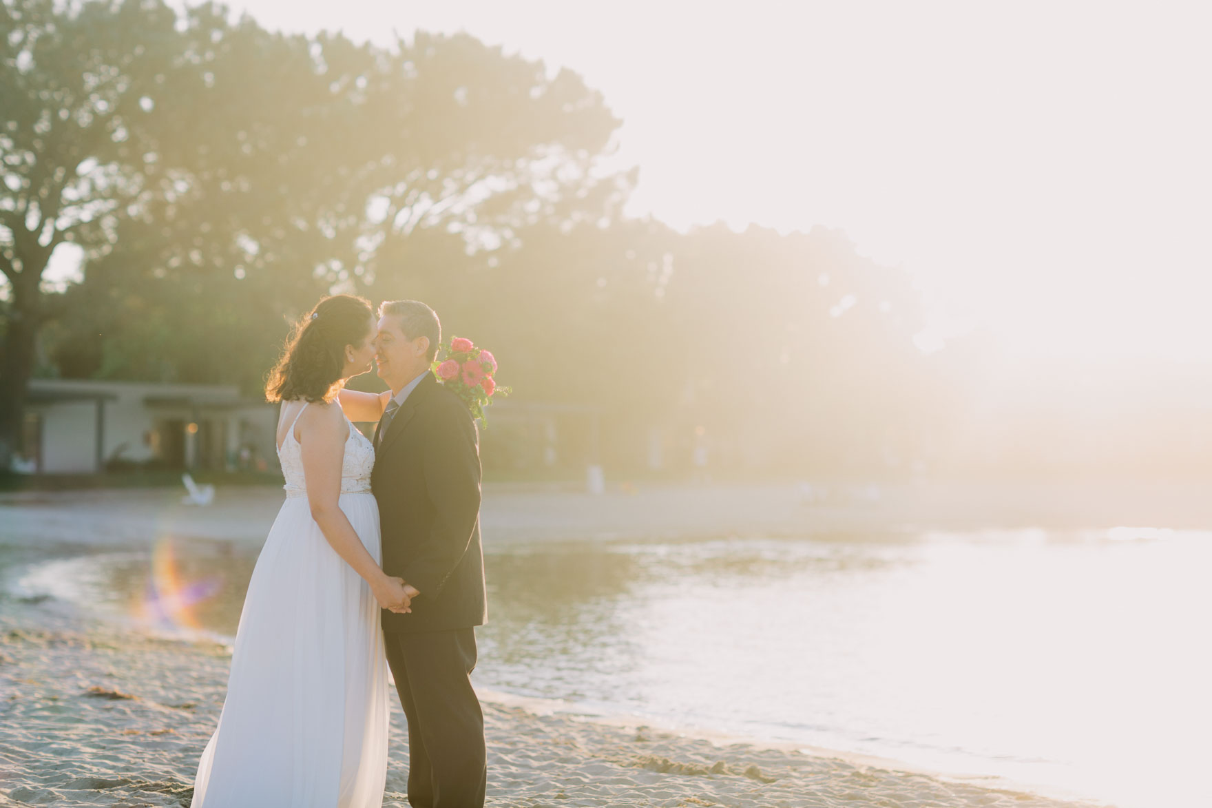 Surprise Seaside Elopement – Photo by Let's Frolic Together