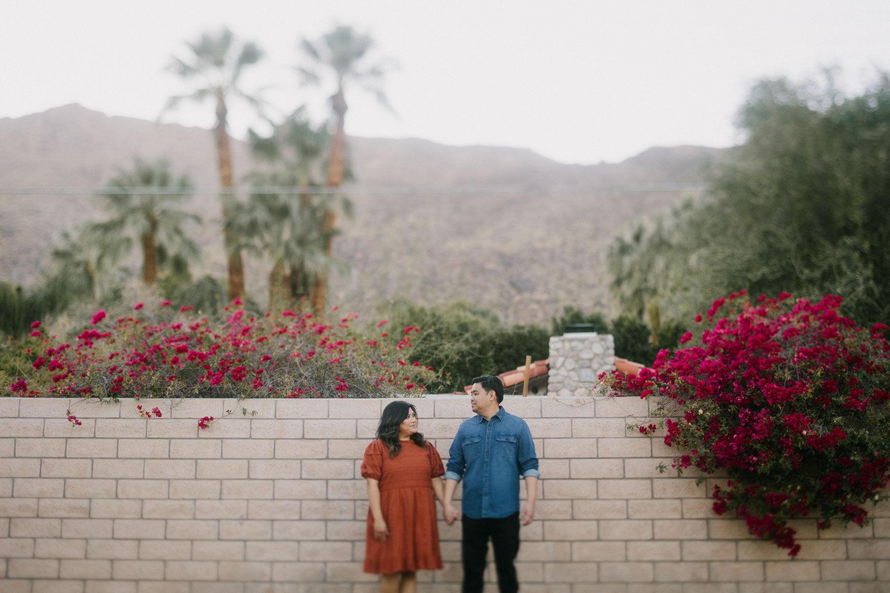Moorten Garden at Golden Hour – Photo by Let's Frolic Together