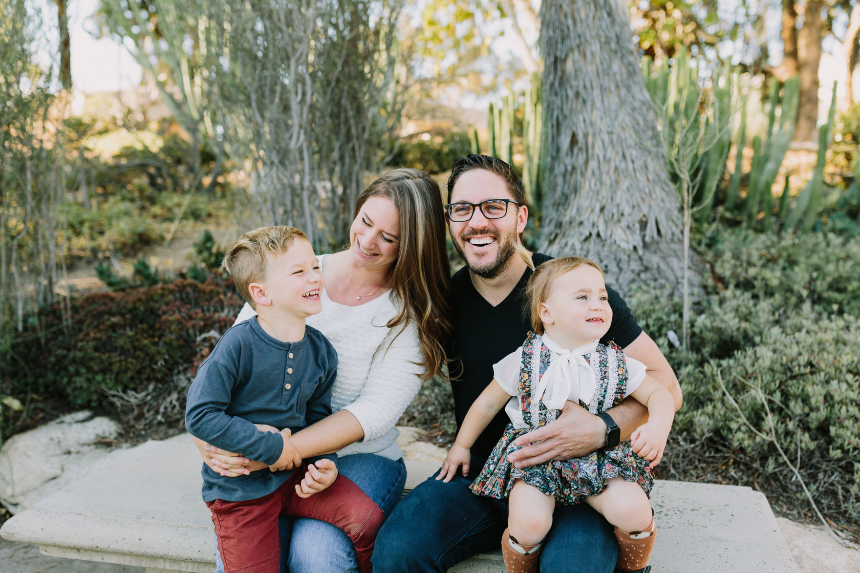 Family Fun in the Cactus Garden – Photo by Let's Frolic Together